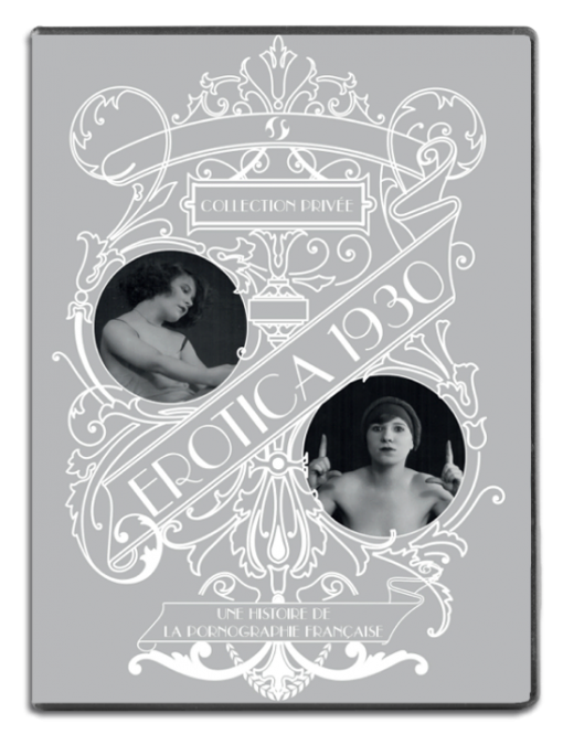 Jacquette du coffret de dvd Erotica 1930