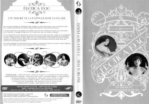 Jaquette complète d'Erotica 1930